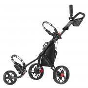 CaddyTek SuperLite V3 Deluxe Golf Buggy / Push Cart - Black
