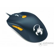 Mouse gaming Genius Scorpion M8-61, alb / portocaliu
