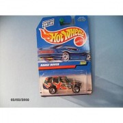 Hot Wheels Range Rover Collector # 868 Metal Flake Green