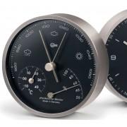 Barigo 101.5 - Modern Home Barometer High Altitude (Black Dial)