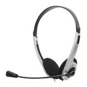 Headset Lite HB101 Prata e Preto