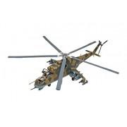 Revell 15856 Monogram - Maqueta de helicóptero militar MiL-24