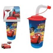 Disney Verdák szívószálas pohár 3D