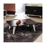 OSLO Table basse L89 cm noir/blanc