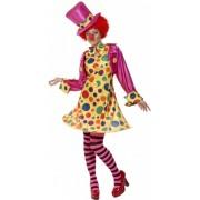 Clowns kostuum voor dames 48-50 (xl)