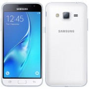 Smartphone Samsung Galaxy J3 8GB DS White, ram 1.5 GB, 5 inch, android 5.1.1 Lollipop