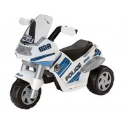 Peg Perego ED0910 Raider 6V - Motocicleta eléctrica de policía [importado de Alemania]