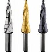 Bosch BURGHIU IN TREPTE HSS-TiN 4-12 MM, 9 TREPTE - BSH-2608597525