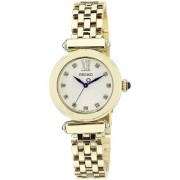 Seiko Silver Stainless Steel Round Dial Analog Watch For Women (SRZ402P1)