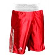 Shorts de Boxe Adidas Red & White - M