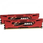 Memorie G.Skill Ares 16GB (2x8GB) DDR3, 1600MHz, PC3-12800, CL9, XMP, Dual Channel Kit, F3-1600C9D-16GAR