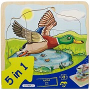 beleduc 5 Layer Duck Puzzle