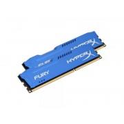 KINGSTON DIMM DDR3 16GB (2x8GB kit) 1600MHz HX316C10FK2/16 HyperX Fury Blue