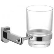 Стакан для зубных щеток стеклянный прозрачный, LM3136C
