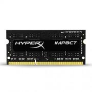 HyperX Impact HX316LS9IB/4 memoria 4GB 1600MHz DDR3L CL9 SODIMM 1.35V