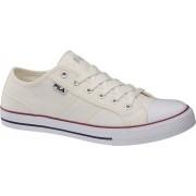 Witte sneaker canvas