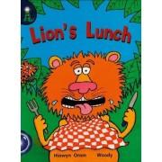 Light house Year 1 Blue Book 6 Lions Lunch by Hiawyn Oram