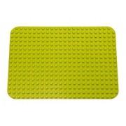 "Premium Light Green 15"" X 10.5"" Construction Base Plate (Lego Duplo Compatible)"