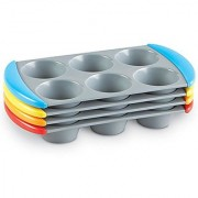 Learning Resources Sorting Muffin Pans (Set of 4)