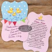 Invitatie botez Famile fericita F06