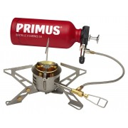 Primus OmniFuel II - Hornillos de camping - with fuel bottle and pouch gris/rojo Hornillos multicombustible