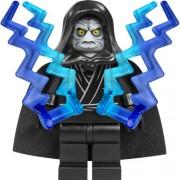 LEGO Star Wars - Figura del emperador Palpatine con dos rayos de luz y 3 cristales de energía