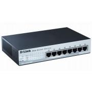 D-Link DES-1210-08P Managed Fast Ethernet (10/100) Power over Ethernet (PoE) Black network switch