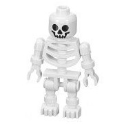 Skeleton (Swivel Arms) - LEGO Prince of Persia Minifigure