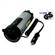 Szinuszos jellegű feszültség inverter, 150 W, 12 V/DC (11 - 15 V) - 230 V/AC · 5 V/DC USB, SmartPowe