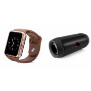 QWERTY Bluetooth Speaker (_JBL Charge K3+ Speaker) And A1 Smart Watch for LG G PRO LITE