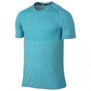 Nike Dri-Fit Knit Ss-Camicia a maniche corte, da uomo