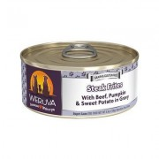 Weruva Steak Frites with Beef, Pumpkin & Sweet Potatoes Canned Dog Food, 5.5-oz can, 24ct