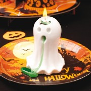 Lumanare figurina fantoma cu efect pentru Halloween, Radar 52867