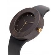 Analog Watch Leather & Blackwood / Hour Markings Watch UPL