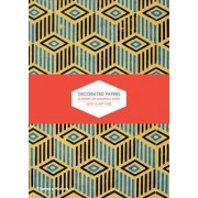 Decorated Papers: Gift Wrapping Paper Book by P. J. M. Marks
