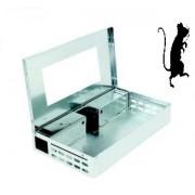 Capcană umană pentru capturarea simultană de până în 10 șoareci