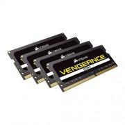 Corsair Vengeance CMSX64GX4M4A2666C18 Kit di Memoria RAM da 64GB, 4x16GB, DDR4, Nero