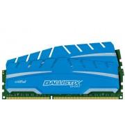 Ballistix Sport XT Kit Memoria da 16 GB (8 GBx2), DDR3, 1600 MT/s, (PC3-12800) UDIMM, 240-Pin - BLS2C8G3D169DS3CEU