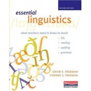 Essential Linguistics, Second Edition by David E Freeman