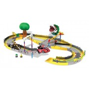 Mario Kart Wii Mario and Donkey Kong Circuit Start Line Building Set by K'Nex