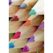 Sharpened Colored Pencils: Blank 150 Page Lined Journal for Your Thoughts, Ideas, and Inspiration
