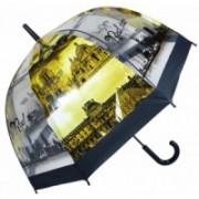 Deštník dámský vystřelovací Paříž city černý 9160-21 9160-21