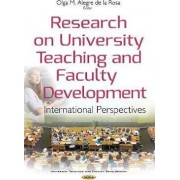 Research on University Teaching & Faculty Development by Olga Maria Alegre De La Rosa