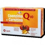Coenzima Q10 + Carnitina, 30 tablete
