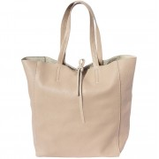 Florence Leather Market Shopping Bag con laccetto in cuoio (9121)