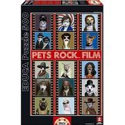 Educa 15553 500 - Pets Rock Film