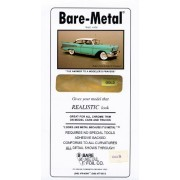 Gold Bare-Metal Foil Model Car Truck Kit Adhesive by Bare Metal Foil