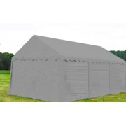 Opslagtent Premium PVC 5x10 mtr in Grijs