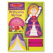 Melissa & Doug Princess Alyssa - Magnetic Dress Up