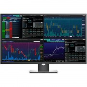 Monitor LED Dell P4317Q 43 inch 8ms Black Silver